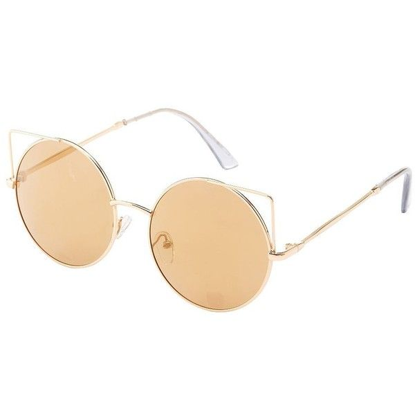 Wire Frame Cat Eye Glasses : 1374 best images about My Polyvore Finds on Pinterest ...