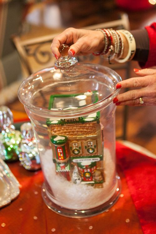 Glass Jar Centerpiece Ideas : Best images about christmas indoor decor on pinterest