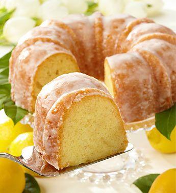 Fresh Lemon Cake with Lemon Icing