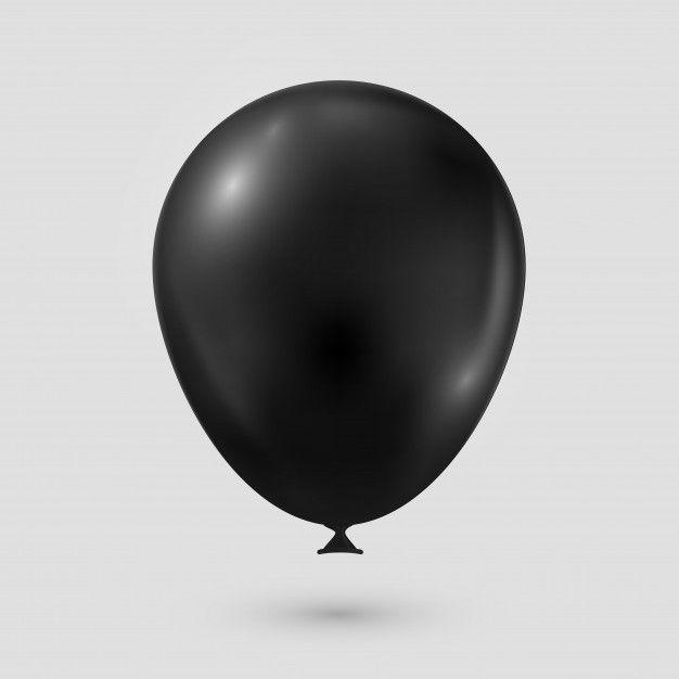 Baloes preto png