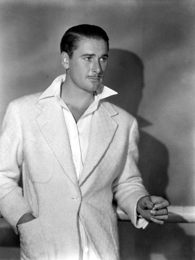 Erroll Flynn...all the Scandals of Classic Hollywood are great (@ www.thehairpin.com)