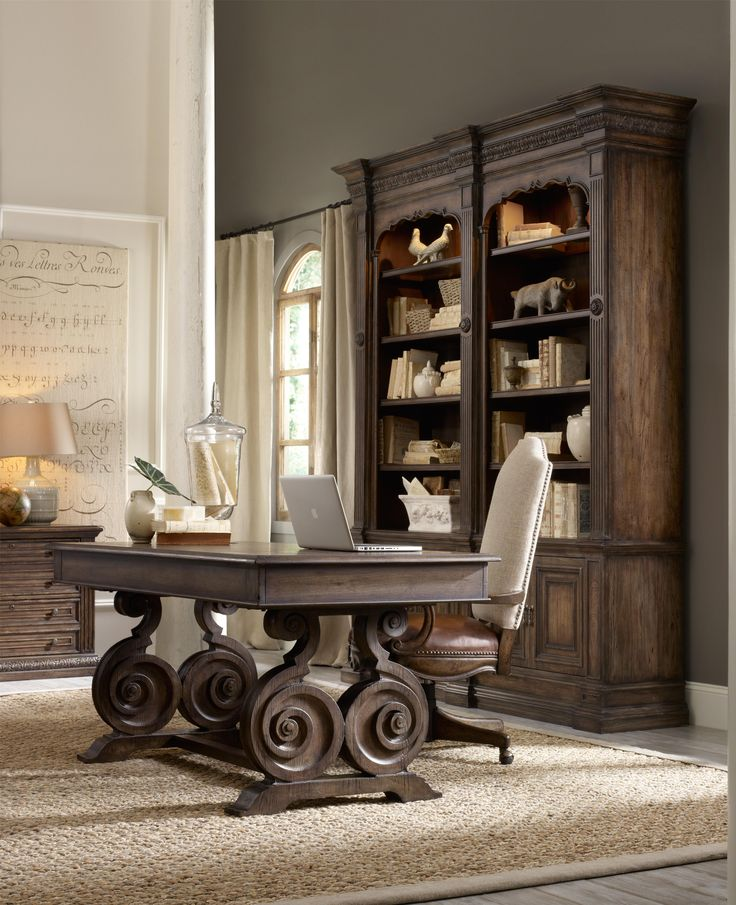 lovely long desks home office 5. this scrolled base writing desk offers innovation on traditional design with breathtaking precision equal parts lovely long desks home office 5