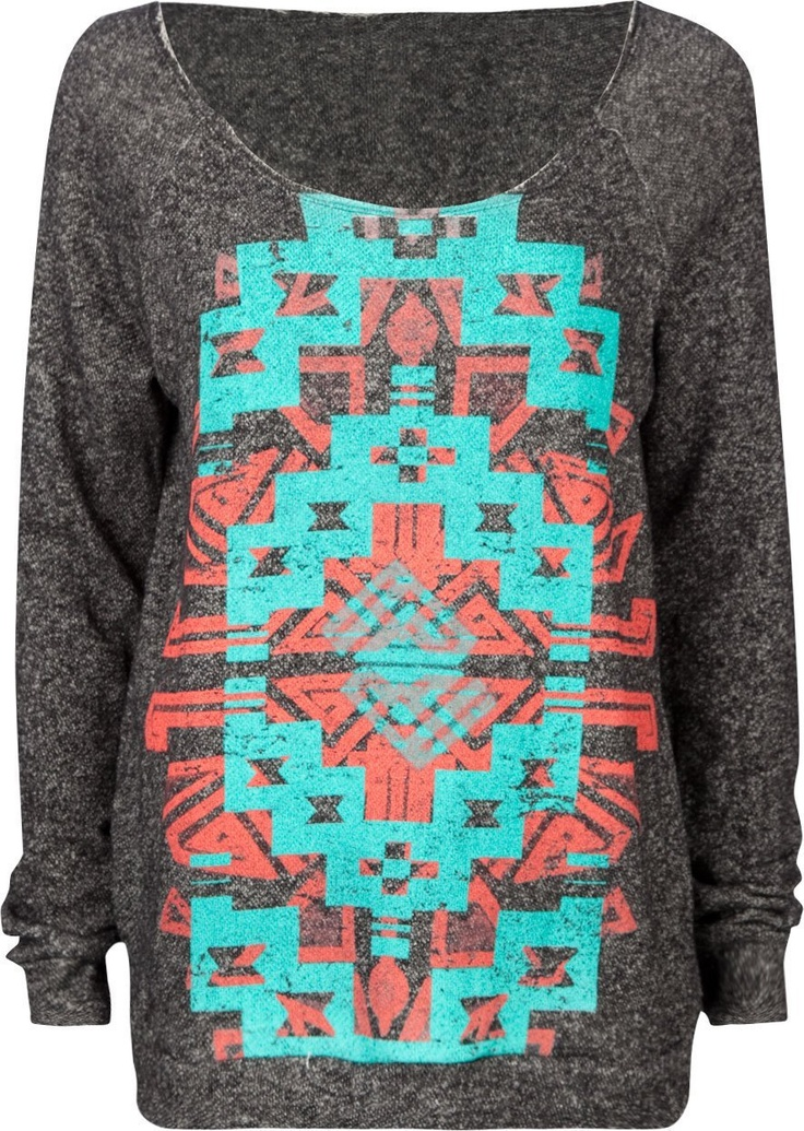 FULL TILT Navajo Screen Womens Sweatshirt,I really want this for snowboarding