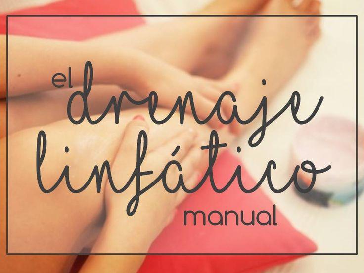 EL DRENAJE LINFÁTICO MANUAL