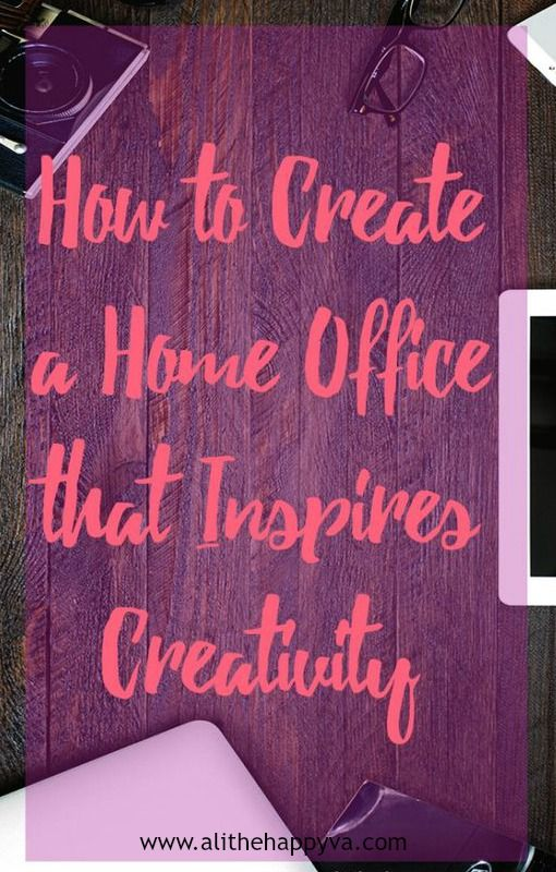 Moving into my new workspace, creating a home office that inspires productivity AND creativity is a big goal of mine. Lots of tips on this!! via @alithehappyva