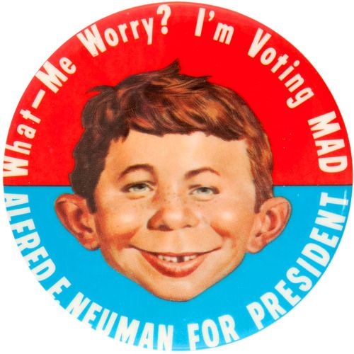MAD Magazine | alfred e neuman on Tumblr