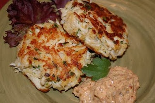 Crab Cakes with Spicy Rémoulade | Yummy In My Tummy | Pinterest