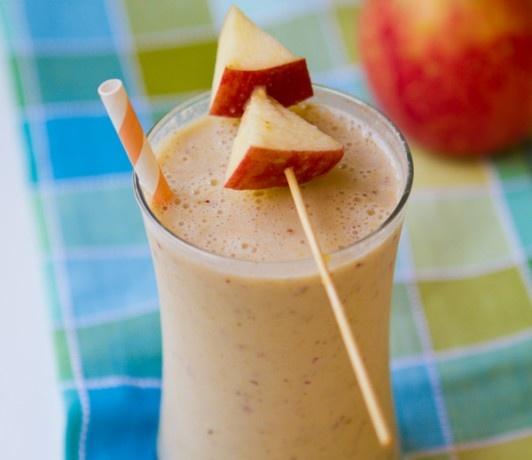 Apple Shake with Peanut Butter & Banana