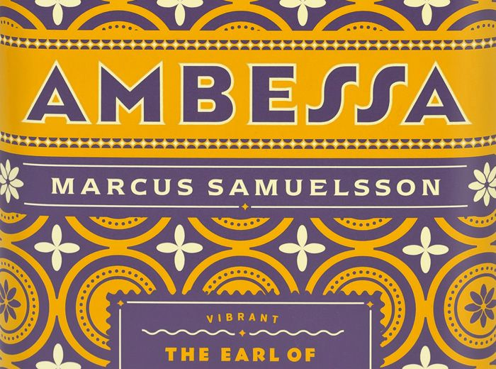Ambessa -Ethiopian for lion- is a new line of imported teas for chef Marcus Samuelsson, designed by the super-talented, Louise Fili.