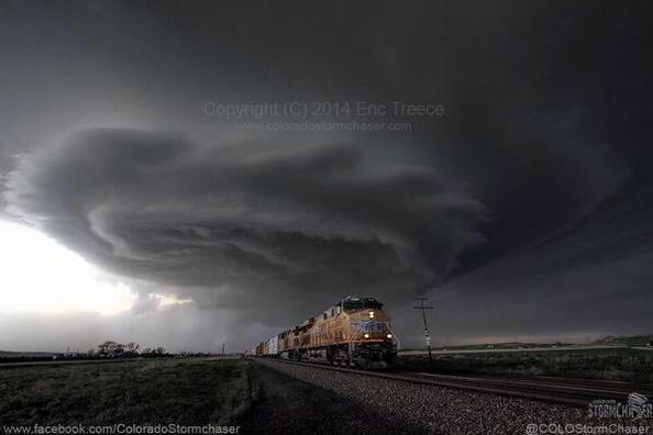 Tornado in Nebraska 2014
