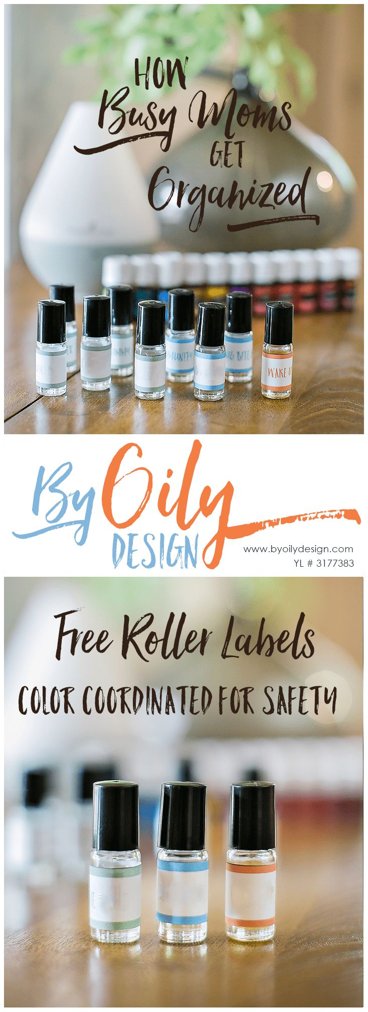 Free essential oil safety rollerball printable (With