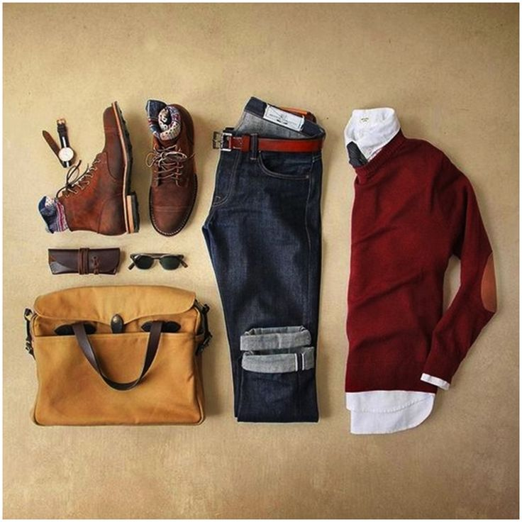 Look otoño / invierno hombre Mode Outfits, Casual Outfits, Fashion Outfits, Sunday Outfits, Sport Outfits, Casual Wear, Fall Outfits, Mode Masculine, Look Fashion