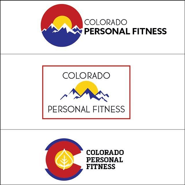 #tbt to intial logo concepts for @coloradopersonalfitness Which is your favorite? Head over to his site to see which one he decided to go with {www.coloradopersonalfitness.com}  #fitness #personalfitness #colorado #denver #websitedesign #love #instagood #photooftheday#instafollow #followback #risingtidesociety #blog #website #freelance #bossbabe #girlboss #entrepreneur