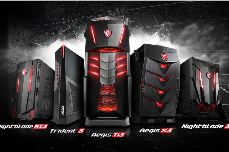 MSI gives sneak peek at bundle of gaming notebooks, desktops, and components