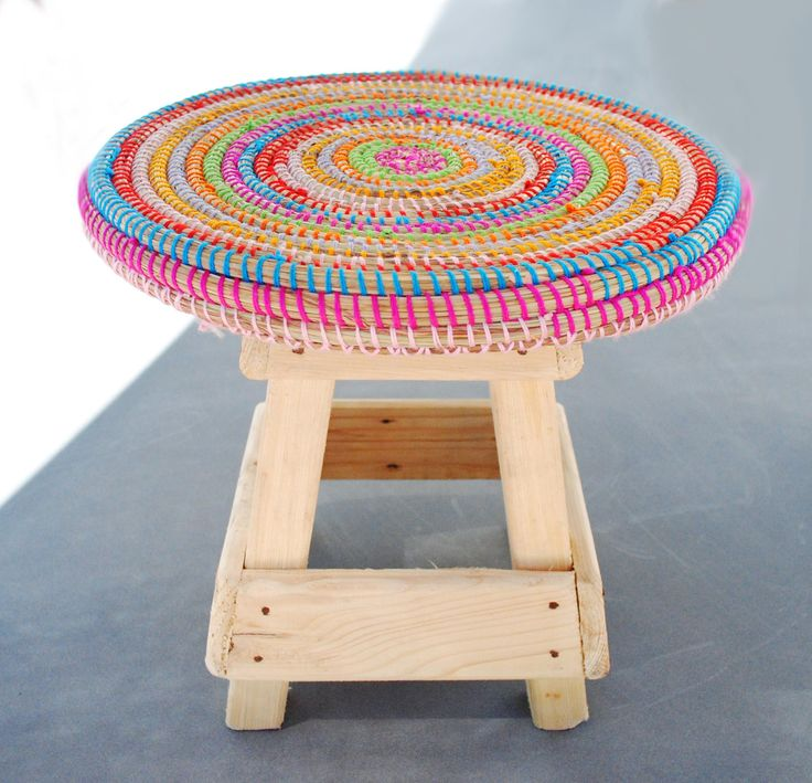 handmade stool