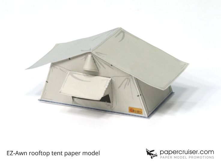Rooftop tent paper model  sc 1 st  Pinterest & 185 best Papercruiseru0027s Paper Models images on Pinterest | Paper ...