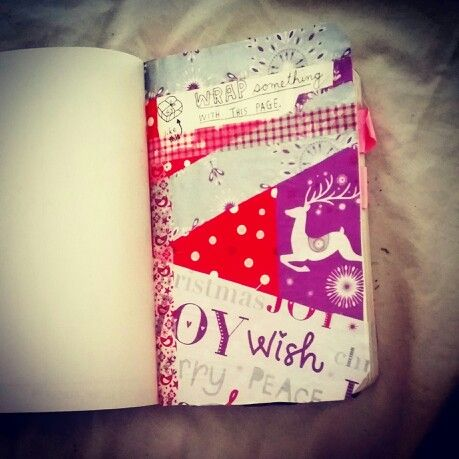 Wrap this page.. wreck this journal!