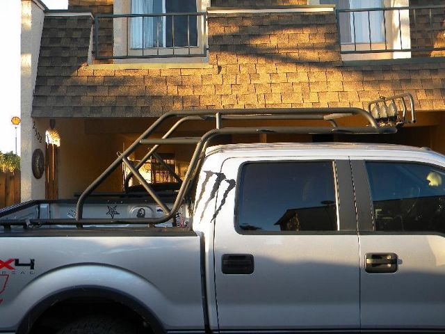 f150 chase rack | Truck accessories, Roof rack, Truck camping