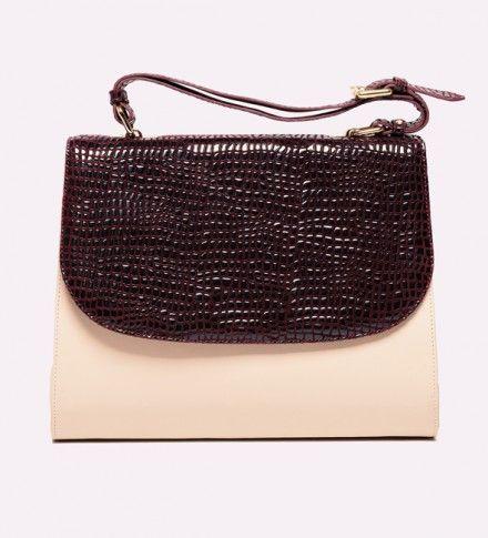geanta din piele naturala Ulan - genti dama
