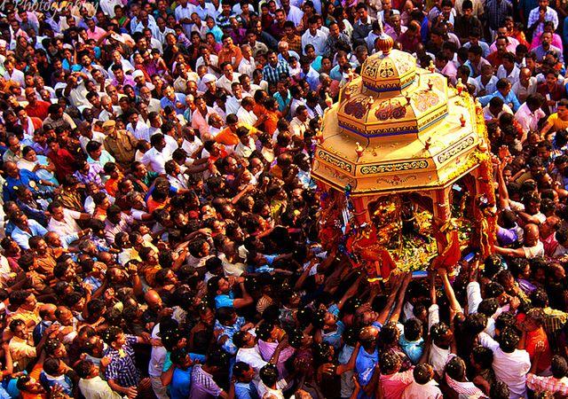 homecoming of the mythical King Mahabali, India