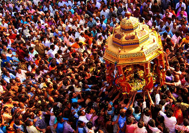 homecoming of the mythical King Mahabali, India