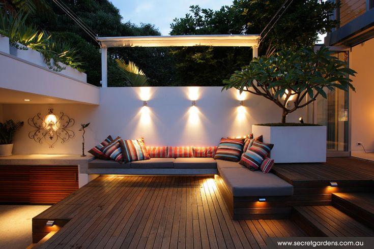 Modern courtyard garden: Eastern Suburbs