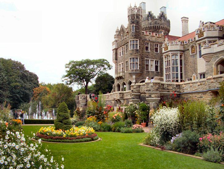 Casa loma toronto beautiful gardens pinterest for Casa loma mansion toronto