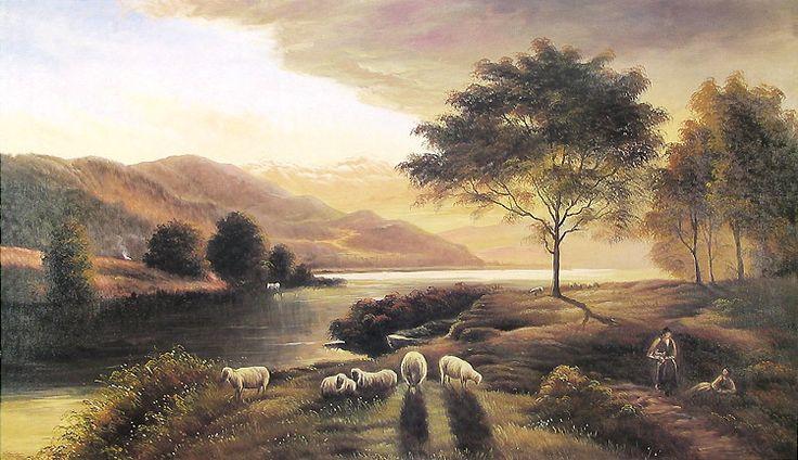 Landscape (Reprint on Paper - Unframed)