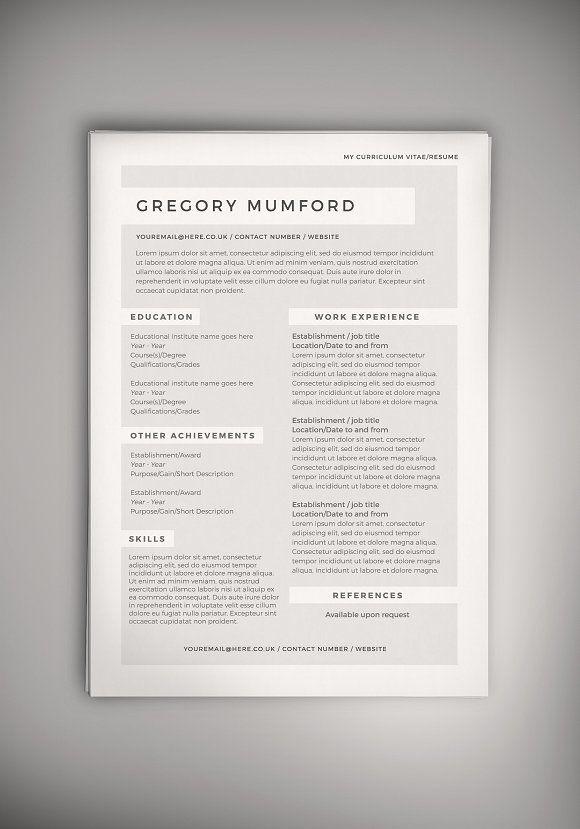667 best Resume Help images on Pinterest Resume design template - resumedoc