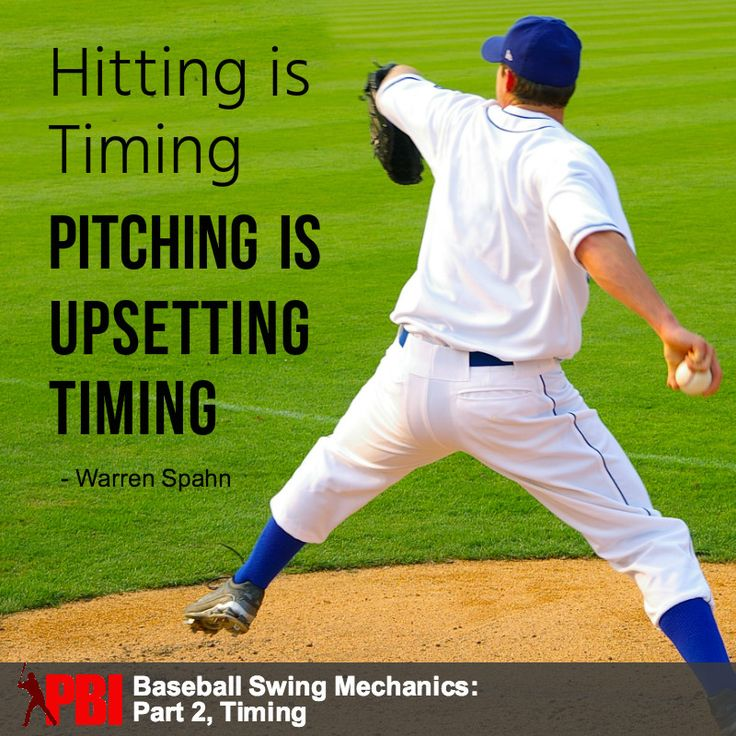Warren Spahn Quote Hitting Is Timing And Here Are 2 Hitting Drills To Help Develop Great Timing Baseball Hitting Baseball Baseball Hitting Drills