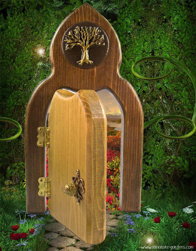205 best fairy doors images on pinterest fairy doors for Wooden fairy doors that open