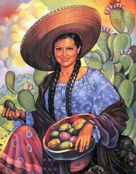 Retro #Mexico - the famous calendar girls