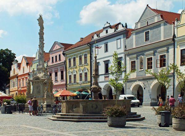 Třeboň #06 Masarykovo náměstí