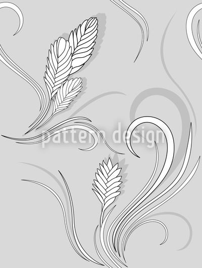 Bromelia Monochrome by Martina Stadler available for download as a vector file on patterndesigns.com