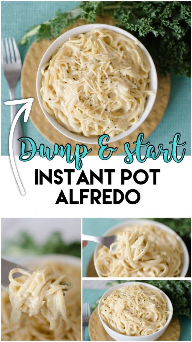 No prep Alfredo made in the Instant Pot in under 20 minutes! A dream come true! Alfredo. Do you know what is better than alfredo? Alfredo made from scratch in under 20 minutes..with only 5 (okay, 7 if you count salt & pepper) ingredients? Yeah, I went there.We eat this for dinner probably once a…