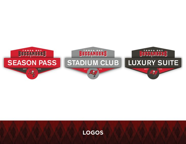 Mock up of what a Luxury Suite Season Ticket holder of the Tampa Bay Buccaneers could receive. Physical mock up was also made to demonstrate the real world size as well as placement within the box.
