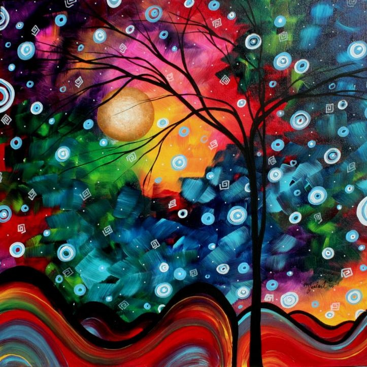 : Paintings Art, Trees Art, Art Paintings, Abstract Art, Art Prints, Megan Duncanson, Trees Paintings, Abstract Landscape, Abstract Paintings