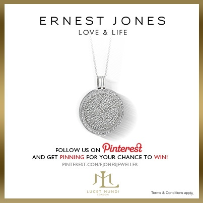 Friday 14th June 2013 - #pinittowinit One winner will be drawn on June 17th 2013. Your Facebook or Twitter account MUST BE linked to your Pinterest profile! Terms and conditions: http://www.ernestjones.co.uk/webstore/static/customerservice/terms_and_conditions.do#pinit