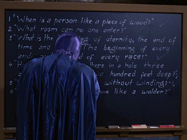 "Holy Rewatch Batman! ""A Riddle a Day Keeps the Riddler Away"" / ""When the Rat's Away the Mice Will Play"""