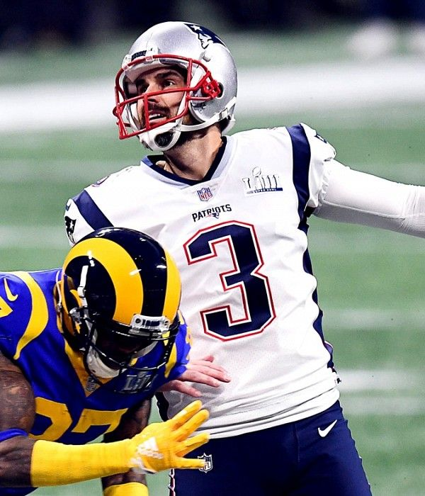 Patriots Re Signing Kicker Stephen Gostkowski To A Two Year Deal After 49ers Express Interest Patriots Usa Today Sports Kicker
