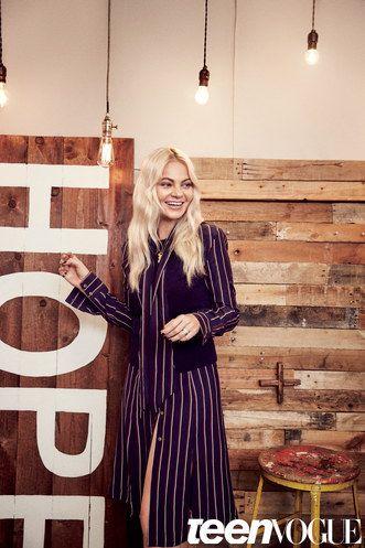 Teen Vogue on #TheGivingKeys' Caitlin Crosby.