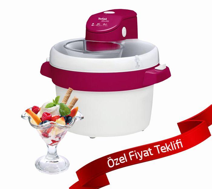 Tefal Dondurmacım Dondurma Makinası :: Birdaha Gel
