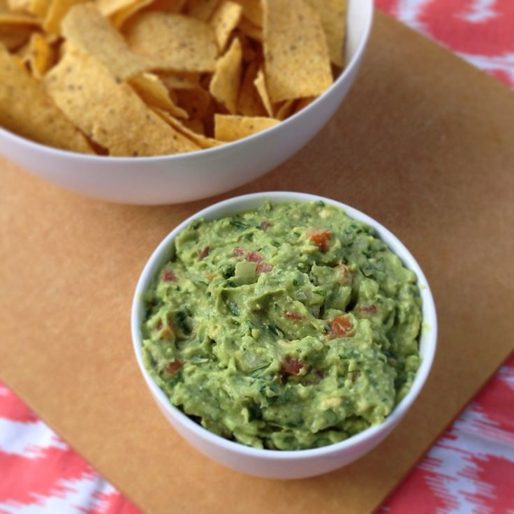 Homemade quacamole is so much less expensive and so much tastier than store-bought!