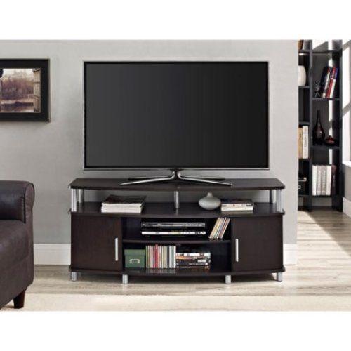 TV Stand 50 Entertainment Center Media Modern Furniture Console Storage Shelf #1