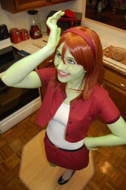 #Cosplay #Martian: M'gann M'orzz aka Miss Martian