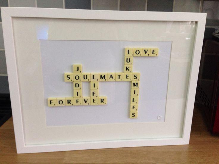 Scrabble frame x