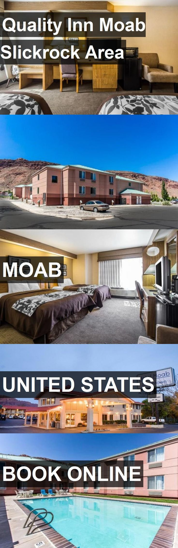 Hotel Quality Inn Moab Slickrock Area in Moab, United States. For more information, photos, reviews and best prices please follow the link. #UnitedStates #Moab #hotel #travel #vacation
