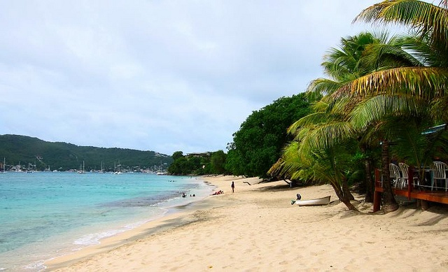 Lower Bay in Bequia, St. Vincent & the Grenadines
