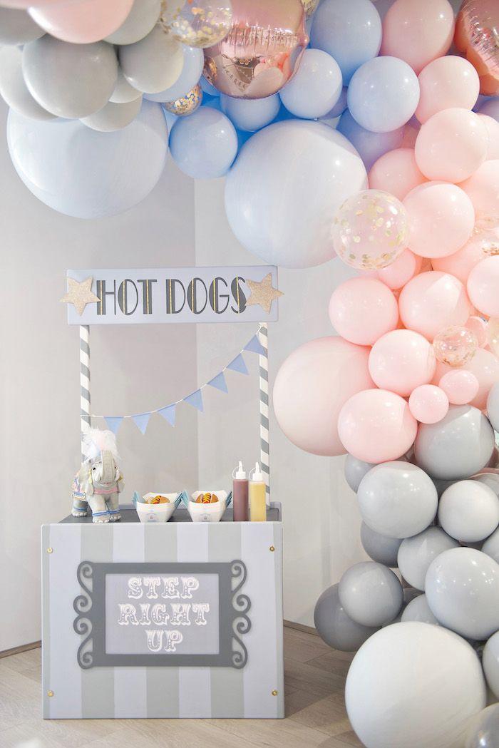 pastel carnival birthday party baby shower ideas carnival rh pinterest com