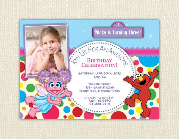 79 best elmo and zoey birthday ideas images on pinterest birthdays abby cadabby and elmo birthday invitation digital print file diy on etsy 1000 filmwisefo Choice Image